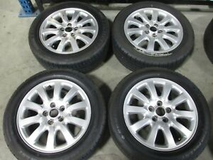 16 Jaguar X Type Factory Oem Silver Wheels Rims Sumitomo Tires 59712