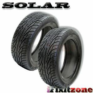 2 Solar 4xs By Sumitomo 205 55 16 91h Blk Sl All Season Performance Tires