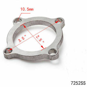 Universal 2 5 4 Bolt Turbo Exhaust Downpipe Flange Gasket Kit Stainless Steel