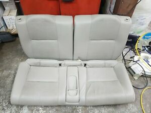 02 06 Acura Rsx Type S Rear Leather Seats L Em2 Ep3 Dc5 Es1 Es2 Ek9 Ap1 Eg6