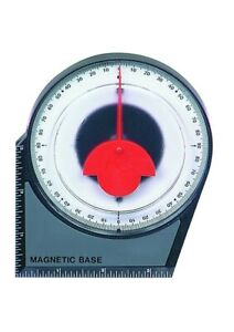 Angle Locator Magnetic Base Gauge 0 90d Dial Protractor Protracter Angle Finder