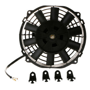 8 Car Motorcycle Electric Radiator Cooling Fan Heat Dissipation 80w 12v