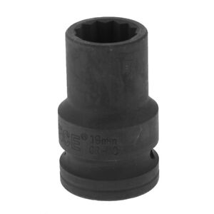 55mm Metric Long Impact Socket 3 4 Double Deep 12 Point Single Hex 19mm