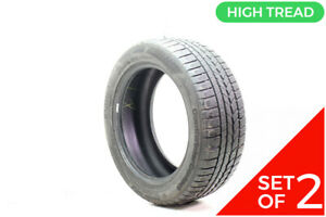 Set Of 2 Used 245 50r18 Continental Contiwintercontact Ts790v 104v 8 5 9 32