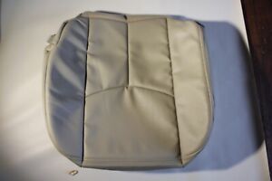 03 06 Chevy Tahoe Suburban Driver Seat Cover Tan shale Tan vinyl
