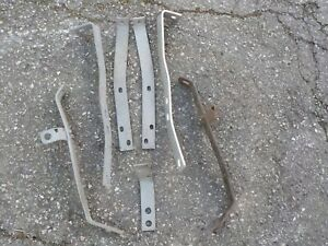 Jaguar Xk 140 Used Mixed Lot Of Bumper Mounting Brackets