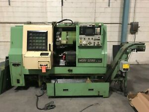 Mori seiki Sl15m 3 axis Cnc Turning Milling Center With Live Tooling C Axis
