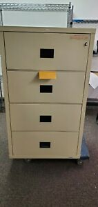 Hon 4 Drawer Lateral Fire proof File Cabinet 31 Manufactured By Fire King