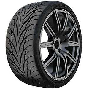 2 New federal 595 205 40zr17 205 40 17 2054017 Bsw Tires