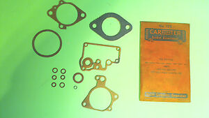 1950 1951 749s Hudson Pacemaker 500 50a 4a 1950 Volvo Hornet Carb Gasket Nos