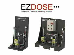 Equip solutions Dual Pump Integrated Chemical Metering System Model 200 3345 201