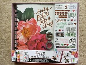 Happy Memory Keeping Undated 12month Planner Box Kit every Picture Tells A Story