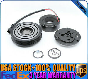 Ac Compressor Clutch Assembly Kit Front Plate Coil Fit For 94 02 Dodge Dakota