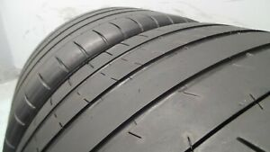 Pair Of 295 30 20 Michelin Pilot Super Sport With 68 Life 6 5 32 S 4683 101y
