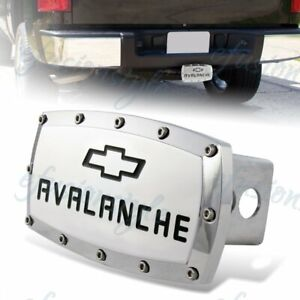 Chevrolet Avalanche Hitch Cover Plug Cap 2 Trailer Tow Receiver W Allen Bolts