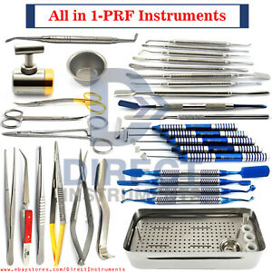 All In 1 Prf Instruments Box Grf Kit Platelet Rich Fibrin Dental Implant Surgery
