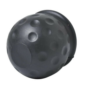 Universal 2 Inch Tow Bar Ball Cover Cap Towing Hitch Caravan Trailer Protect