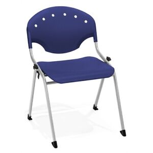Rico Stack Chair Without Arms Navy