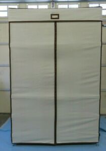 Stainless Steel Wire Rack Heavy Duty Canvas Cover Zippered Closure