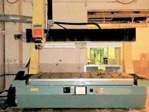 Cnc Thermwood Five Axis Router 5x10p 5 X 10 X 25 5 Axis Gantry Router