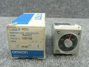 Unused Omron E5c2 r20j Temperature Controller