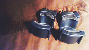 2 1994 Lincoln Town Car Black Cup Holders Swivel Back Into Console