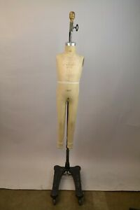 Wolf Collapsible Vintage Dress Form Mannequin Model 1977
