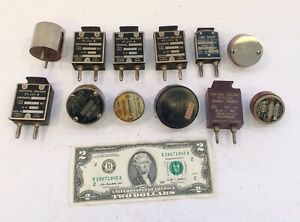 Mixed Lot 12 Unique Vintage Ham Radio Crystal Oscillators 6 Are Type ft