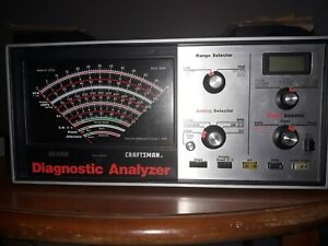Sears Craftsman Professional Diagnostic Analyzer W leads And Manual 921045