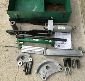 Greenlee 882 Hydraulic Bender 1 1 4 To 2 Emt Conduit Metal Pipe Bender