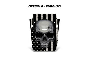 Jeep Wrangler Hood Wrap Off Road Graphic Sticker Flag Decal 2007 2018 Subdued Ln