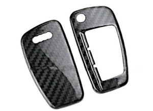 Carbon Fiber Key Fob Remote Box Cover Folded Key Frame For A3 A6 A3 A1 S3 S6