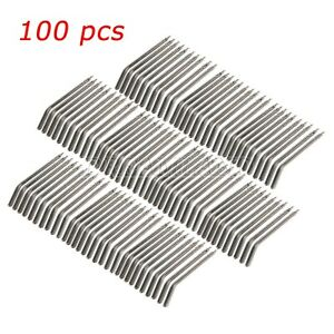 Lot Of 100 Dental Nozzles Tips For 3 way Air Water Triple Syringe Solid Alloy Us
