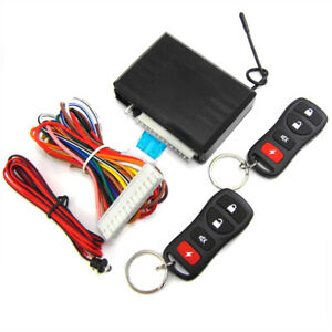 5pc Car Remote Control Door Lock Central Kit Locking Keyless Entry System