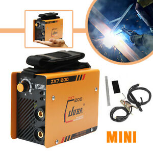 10 200a Welding Machine Mma Portable Welder Dc Igbt Soldering Inverter Tool