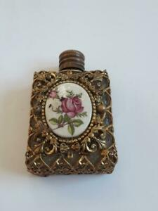 Rare Old Beautiful Perfume Bottle Art Nouveau