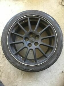 08 15 Mitsubishi Evolution Evo X 10 Enkei Wheel Rim 12 Spoke 18 W Tire Oem