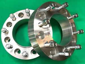 2 Dodge Ram 2500 3500 Hub Centric 8x6 5 Wheels Spacers 2012 To 2018 Rear Axle