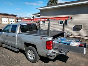 Bb72 2 Drawer Truck Bed Tool Box By Hmf 72 Long X 48 Wide X 10 15 16 Tall