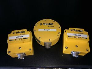 Trimble Rs400 Gps Machine Control Rotation Sensor W 2 As400 Slope Sensors