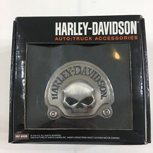 Harley Davidson Auto Truck Accessories Trailer Hitch Cover 3d Skull Emblem R2