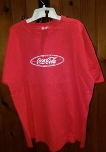 Classic Red 1999 Vintage Coca-Cola T-Shirt Always Refreshment Since 1886 Logo XL