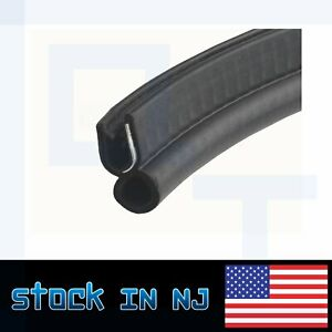25ft Car Rubber Seal Strip Trim And Edge Trunk Door Lock Hood Window Protection