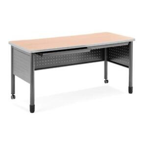 Ofm Mesa Series Model 66140 Steel Training Table And Desk With Pencil
