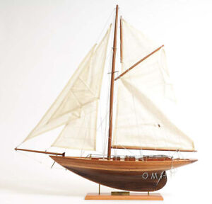 25 5 X 24 Eric Tabarly S Pen Duick Sailboat Wooden Ship Model Yacht Assembled