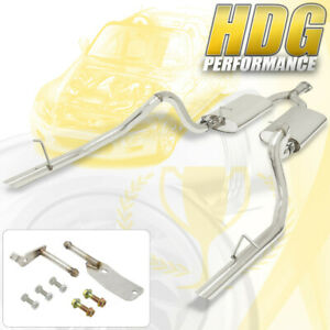 Performance Catback Exhaust System For 1994 1997 Ford Mustang 4 6l 5 0l Gt Cobra
