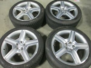19 Mercedes S550 Factory Oem Wheels Rims Tires S400 S600 Cl550 65472 65473