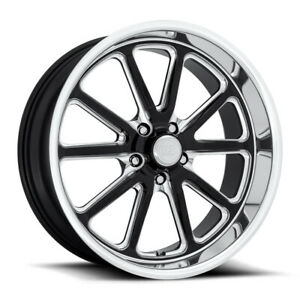 Us Mag Rambler U117 20x8 5x120 65 Et1 Gloss Black Diamond Cut Lip qty Of 1