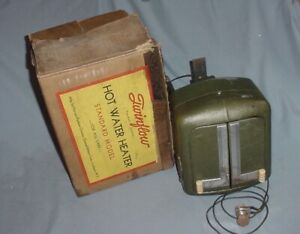 1930s Gm Harrison Vintage Car Hot Water Heater Buick Chevy Pontiac Oldsmobile