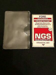 Ford Ngs Obd2 Service 1994 To 2005 Red Card 22 2